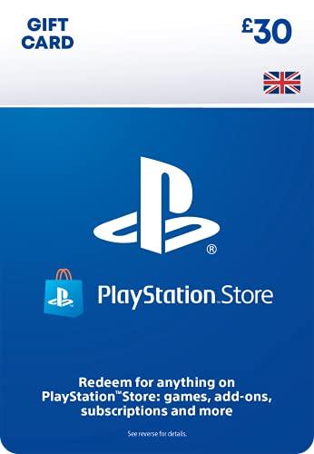 PlayStation PSN Card 30 GBP Wallet Top Up | PS5/PS4/PS3 | PSN Download Code...