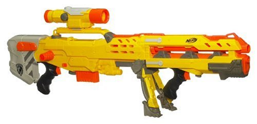 Hasbro - Nerf N-Strike 2in1 Longshot CS-6 inkl. Darts