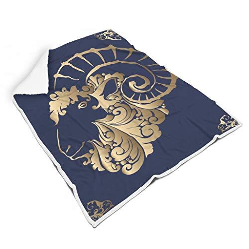 shengmengshi - Coperta in Pile con Motivo Europeo, Leggera e Colorata, per Sedia e Sedia, Panno in Gomma, Bianco, 150 x 200 cm