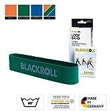 BLACKROLL  Fitnessband Loop Band Trainingsband Gymnastikband Sportband mit mittlerer Dehnbarkeit,...