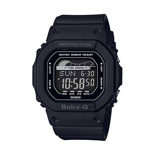 Casio Baby G Digital Dial Polyurethane Strap Ladies Watch BLX-560-1