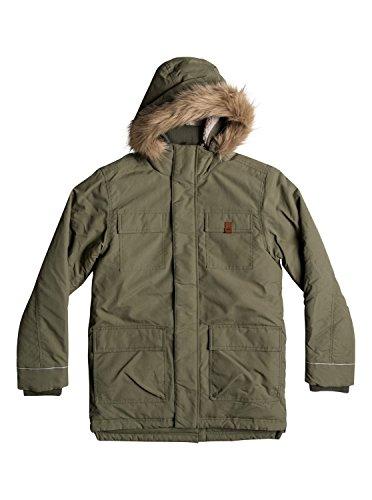 Quiksilver Seasonal Rain - Water-Repellent Parka Jacket for Boys 8-16 - Jungen 8-16