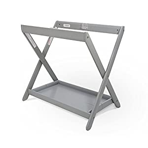 crib bedding and baby bedding uppababy bassinet stand, grey