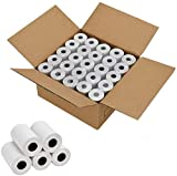 Thermal Paper 2 1/4 inch x 50 feet, Cash Register POS Receipt Paper for Credit Card Machine (50 Rolls)