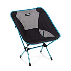 Lightweight, compact camping and backpacking chair packs smaller and weighs less than a bottle of wine Chair frame is constructed from advanced proprietary aluminum alloy to provide maximum strength at a minimum weight; holds up to 320 pounds Removab...