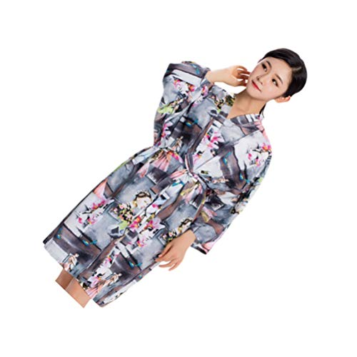 Minkissy Salon client kleding kappers kimono robe tondeuse kapper verven schort voor salon spa hotelaccessoires