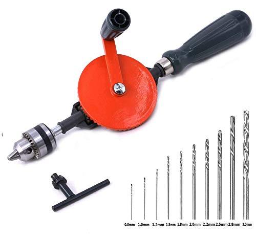 Frylr Hand Drill Speedy Powerful Manual Hand Crank Drill 3/8...