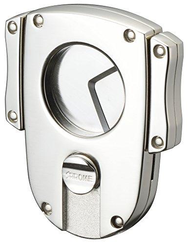 Sarome Metal Cigar Cutter EXCT2-07 Silver satin