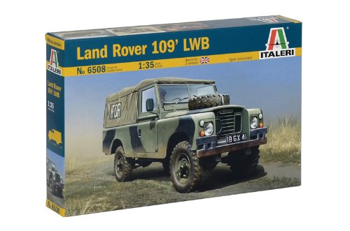 Italeri 510006508 - 1:35 IT Land Rover 109´ LWB