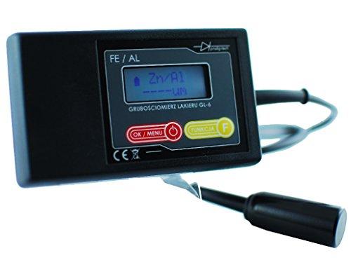 Prodig-Tech GL-6s Lackmess Lackprüfer Lacktester mit Sonde, Lackschichten-Messgerät, Lackschutzprüfer, Lackmesser MIT SONDE