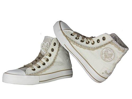 Krüger Damen Sneaker Cream Dream 4122 (37, creme beige)