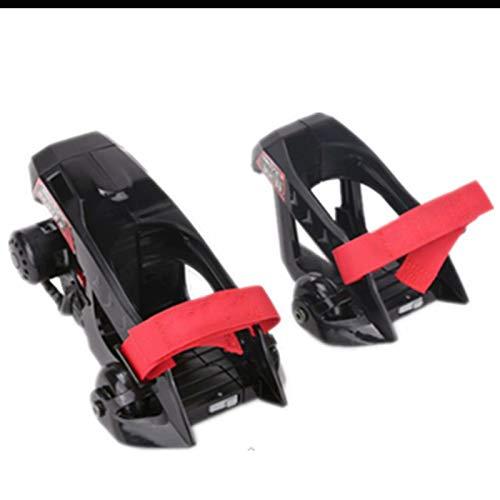 Rollschuhe - Verstellbare Elektro-Skates mit coolen Rücklichtern für Indoor- und Outdoor-Unisex, Erwachsene