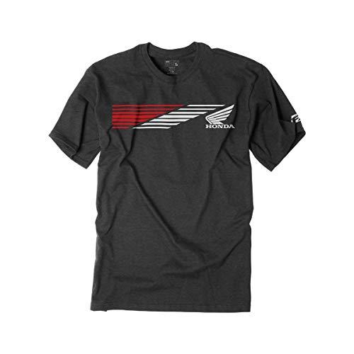 Factory Effex Honda Speed T-Shirt (XX-Large) (Charcoal)