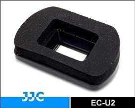 JJC EC-U2 Soft Durable Foam eyecup eyepiece for Canon EOS 1D Mark III 1D Mark IV 1Ds Mark III 1D X 5D Mark III 7D