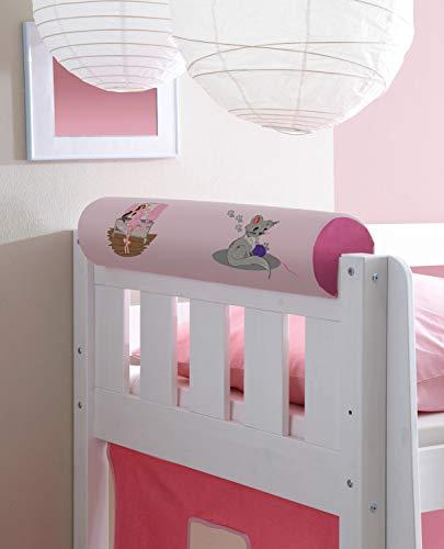 Nackenrolle Nackenkissen für Kinderbetten mit Farbauswahl
