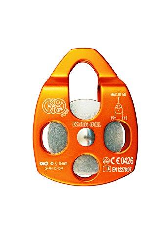 Kong Carrucola Extra Roll, Arancione, 11 cm