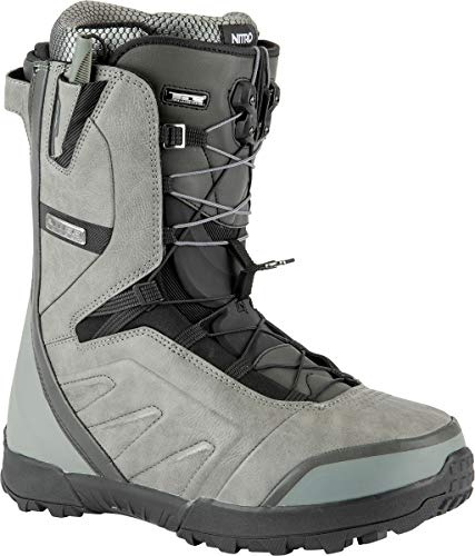 Nitro Herren Select CLICKER TLS Boot´21 Snowboardboot, Charcoal-Black, 29.5
