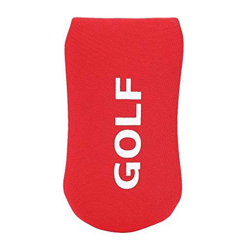 Alomejor Schlägerkopfhülle für Putter Golf Putter Abdeckung Bunte Golf Club Kopfschutz(Rot)