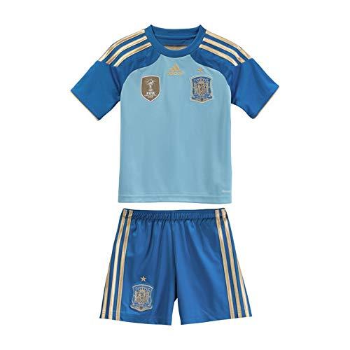 Adidas Portero Selección Española 2014 Niño, Conjunto, Azul, Talla 92