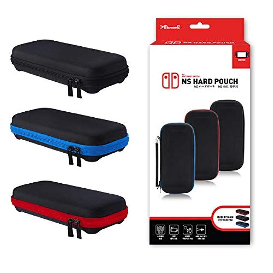 ミスその結果沼地Nintendo Switch専用 ハード ポーチ 収納 ケース カードケース付き ポケット内蔵 KMNS-136