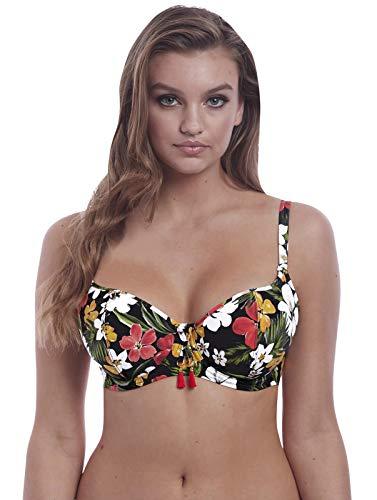 Freya Tiki Bar Sweetheart Bikini Top, 32FF, Multi
