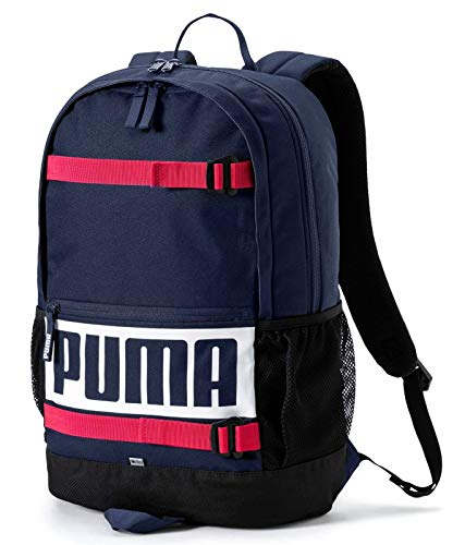PUMA Deck Rucksack blau/rot/schwarz, OneSize