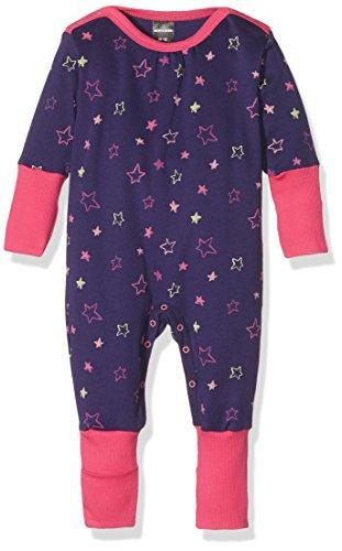 Schiesser Baby Anzug Mit Vario, Ensemble de Pyjama Bébé Fille, Bleu (Dunkelblau 803), 3-6 Monate (Taille Fabricant: 062)