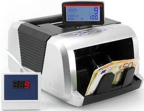 CONTADOR DE BILLETES (Cuádruple detección de billetes falsos UV/MG/MT/IR + tecnología 2D) - EUROLINE desde 1994