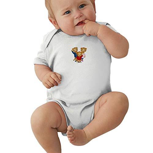 Daniel-Tigres-Familia Baby Boys Pijama Unisex Romper Baby Girls Body Infant Funny Jumpsuit Outfit 0-2t Niños