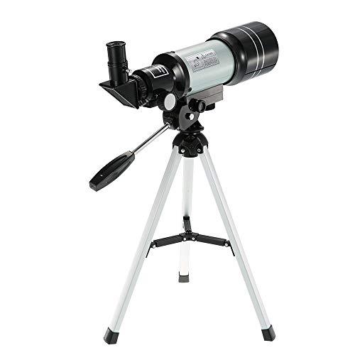 Telescopio Astronmico Espacio Refractivo Monocular Telescopio Exterior 150X Alcance De Bsqueda De Viaje con Trpode Porttil