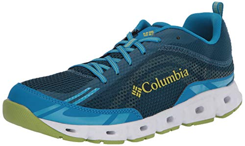 Columbia Herren DRAINMAKER IV Multi-Sportschuhe, Blau (Phoenix Blaue, Leaf Green 442), 42 EU