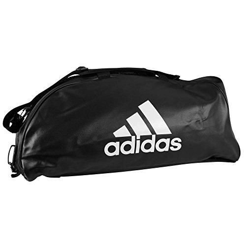 adidas Training 2 in 1 Sporttasche L - 72 x 34 x 34cm schwarz rosa neon flash pink ADIACC051SP Tasche Rucksäcke Rucksack Trainingstasche