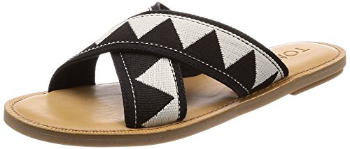 TOMS dames dames dames Viv Black sandalen trekking- & wandelschoenen