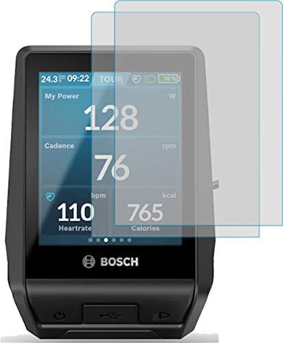 4ProTec I 2X Schutzfolie MATT passgenau für Bosch Nyon BUI350 2021 - Bildschirmschutzfolie Schutzhülle