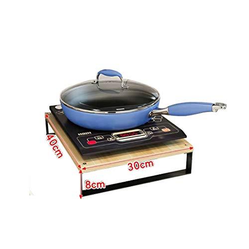 Support Multifonction pour ustensiles de Cuisine, Couvercle de cuisinière à gaz, Tapis de cuisinière à Induction, Support de cuisinière, Couleur: F