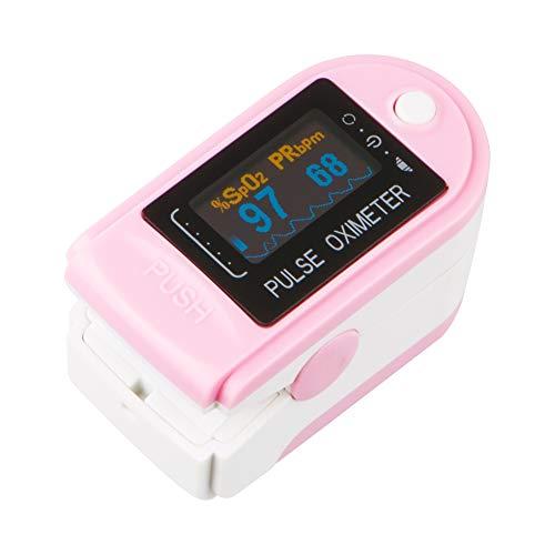 Fingerpulsoximeter CMS 50D in 6 Farben, Farbe:Rosa