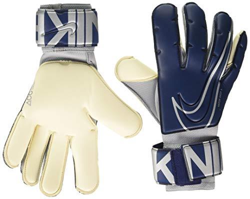 Nike NK GK VPR GRP3-FA19, Guanti Unisex-Adulto, Blu (Blue Void) / Argento Metallizzato, 10