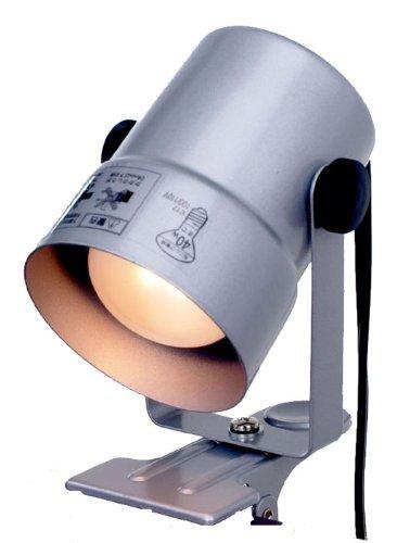 (まとめ買い) ELPA クリップライト SPOT-CR40(SL) 【×3】