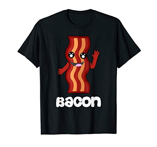 Funny BACON And Egg Duo Valentines Halloween Simple Costume T-Shirt