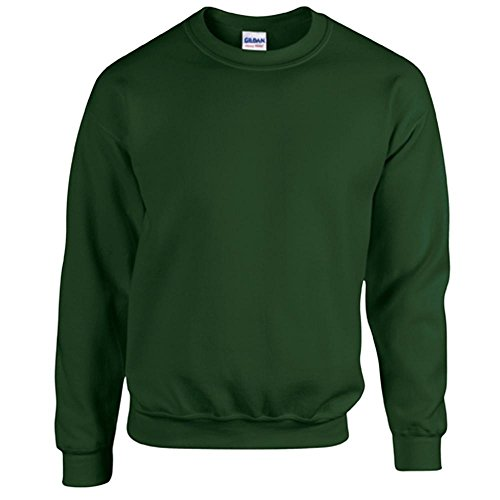 Gildan - Heavy Blend Sweatshirt - S, M, L, XL, XXL, 3XL, 4XL, 5XL /Forest Green, L