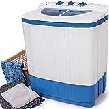 TecTake® 4,5 kg Mini Waschmaschine Miniwaschmaschine + 3,5 kg Wäscheschleuder Kombination - 2