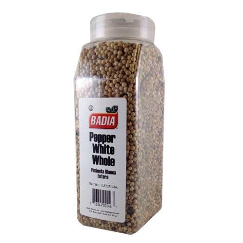 Badia Whole White Peppercorn 1.37 - Max 1 year warranty 57% OFF lbs