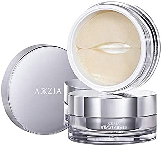 AXXZIA Platinum Silk Freezing Age Eye Mask Energy Infusion Eye Mask Eye Pads Anti Dark Circle Firming The Skin, 30 Pairs