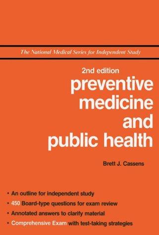 NMS Preventive Medicine and Public Health