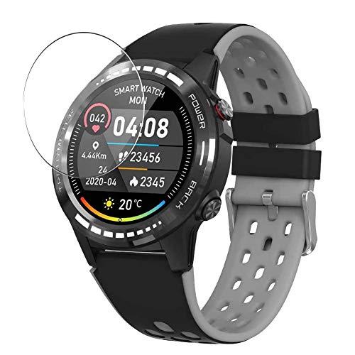 Vaxson 3 Stück 9H Panzerglasfolie, kompatibel mit Naturehike M7 M7C Smartwatch smart watch, Panzerglas Schutzfolie Displayschutzfolie