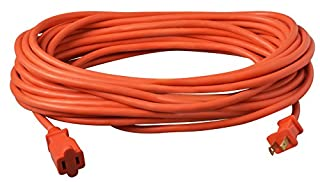 Coleman Cable 02208 16/2 Vinyl Outdoor Extension Cord, Orange, 50-Feet (B002CGRLEI) | Amazon price tracker / tracking, Amazon price history charts, Amazon price watches, Amazon price drop alerts