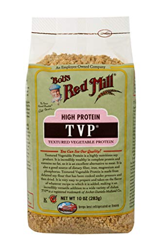 Bob's Red Mill TVP (Textured Vegetable Protein), 10-ounce (Pack of 4)