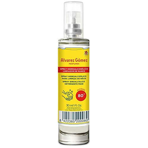 Alvarez Gomez Spray Higienizante, Amarillo, 30 Mililitros