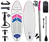 Best Paddle Boards - Aqua Plus 10ftx32inx6in Inflatable SUP for All Skill Review