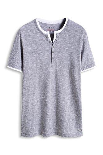 Edc by Esprit 016CC2K015-2 in 1-Slim Fit T-Shirt, Gris-Grau (Medium Grey 035), X-Large Homme